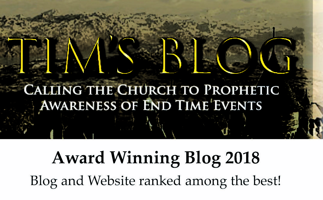 Focus On the End Times Blog Voted Among Top 25 End Time Blogs