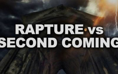 Rapture vs. Second Coming