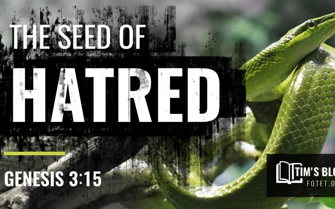 The Seed of Hatred