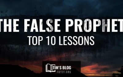 The False Prophet: Top 10 Lessons