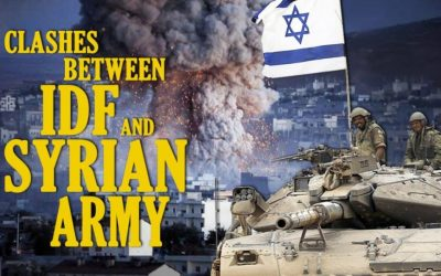 Clashes Between IDF and Syrian Army