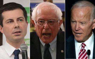 Buttigieg, Biden, Sanders Hit Trump for Eliminating Soleimani