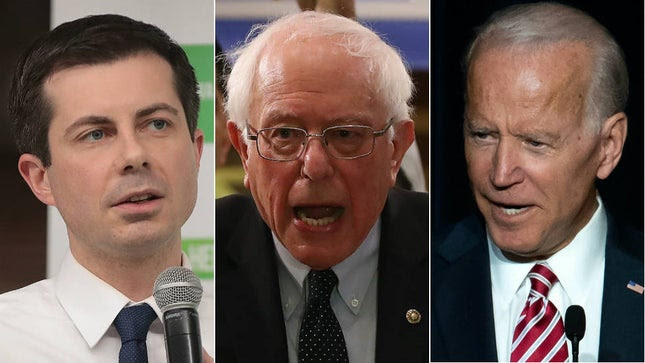 Buttigieg, Biden, Sanders Hit Trump for Eliminating Soleimani