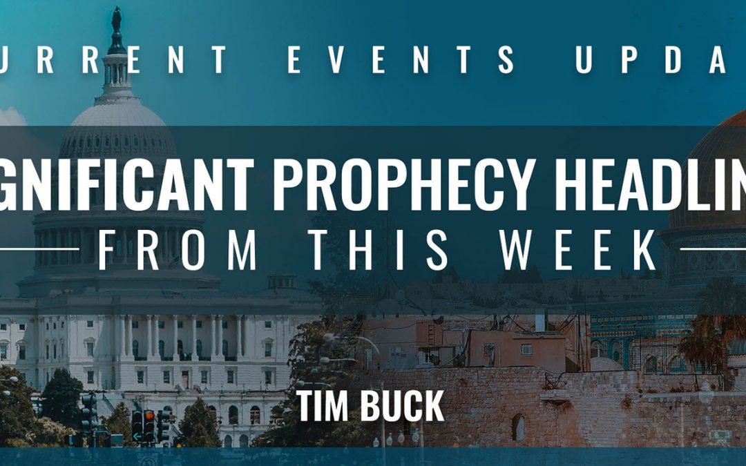 Prophetic News Update – Happening Now