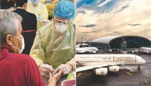 Emirates Airline Conducts  COVID-19 Blood Tests  On All Passengers