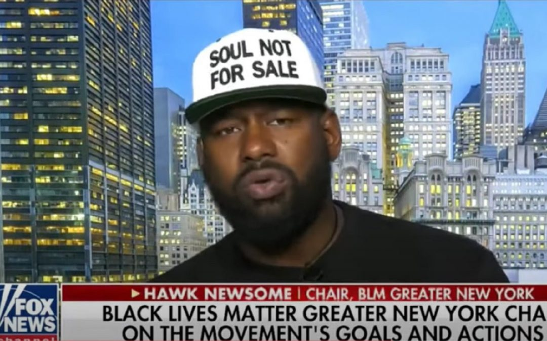 The Mask Comes Off: BLM New York President Says They Will 'Burn The System Down' If America Doesn't Give In