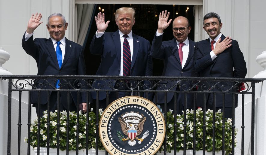 Trump Trumpets Middle East Peace and Signs 'Abraham Accord' Peace Treaty at the White House