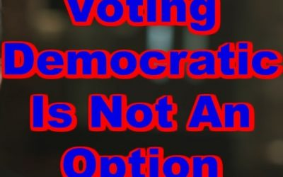 Voting Democratic is Not an Option. Their Platform of Immorality will bring judgment on America! With 2-weeks left, America needs prayer!