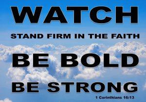 1 Corinthians 1613 Focus on the End Times