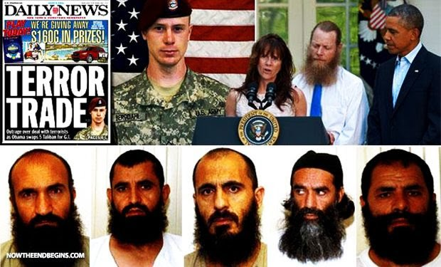 """Obama's """"GITMO 5"""" Now Ruling the Taliban and Afghanistan and Biden Wants To Negotiate."""